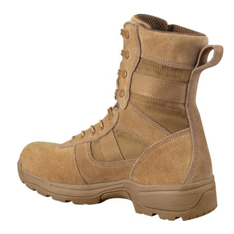 F4519 Series 100 8' AR 670-1 Compliant Waterproof Military Boot, Coyote