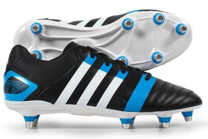 FF80 Pro XTRX SG II Rugby Boots Black/Running White/Solar Blue