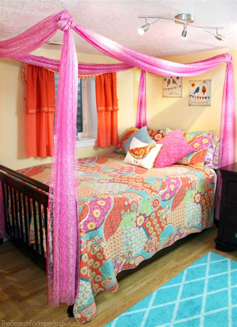 Fabric Bed Canopy Diy Princess