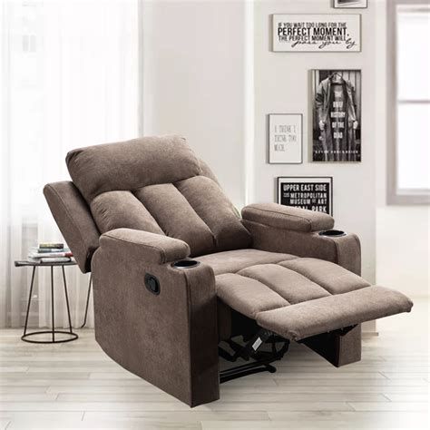 Fabric Theater Recliners