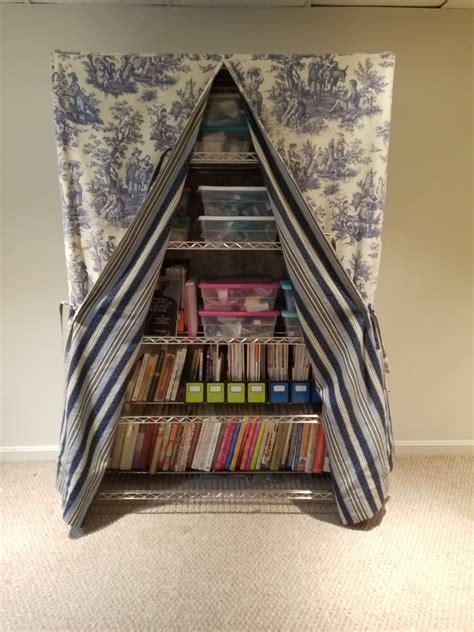 Fabric-Bookshelf-Cover-Diy