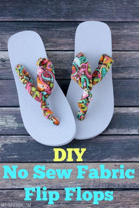 Fabric-Flip-Flops-Diy