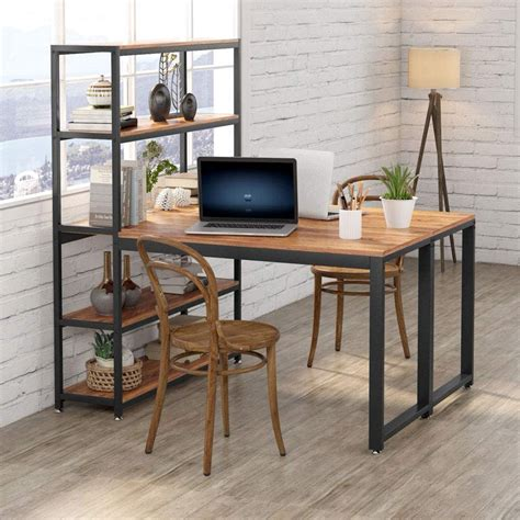 Facing Work Station Desk Plans