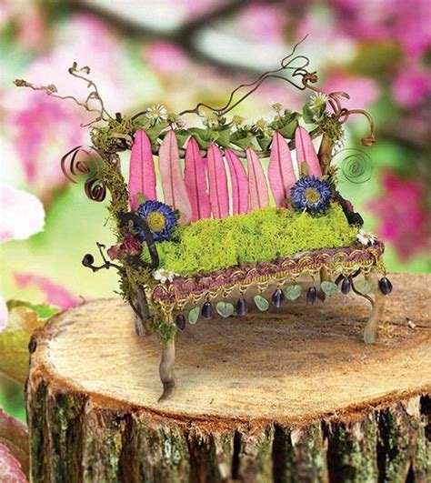 Fairy Garden Furniture DIY