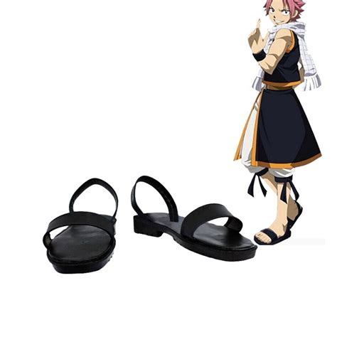 Fairy Tail Natsu Dragneel Cosplay Shoes Boots Custom Made