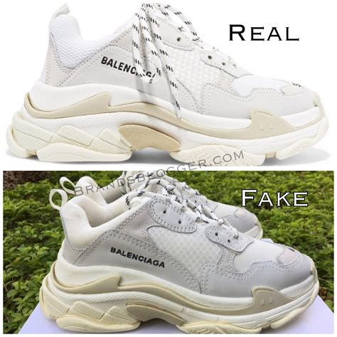 Fake Balenciaga Sneakers Vs Real