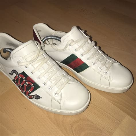 Fake Gucci Ace Sneakers Snake