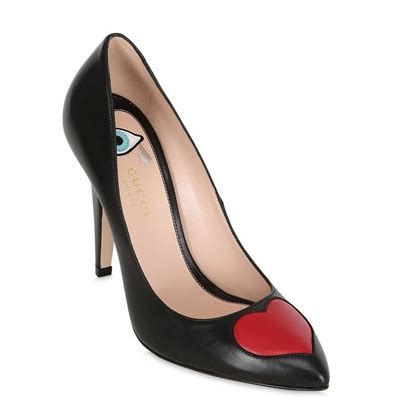Fake Gucci Heart Sneakers
