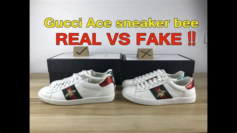Fake Vs Real Gucci Ace Sneakers