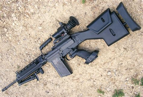Fal Sniper Rifle And Model Mp15x Rifle