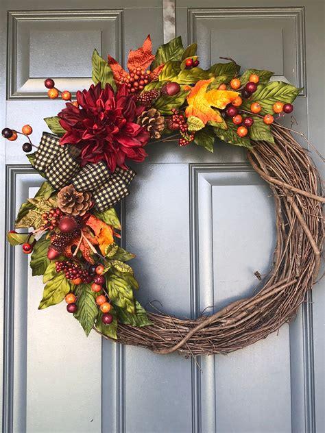 Fall-Wreaths-For-Front-Door-Diy
