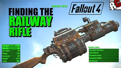 Fallout 4 How To Get Railway Rifle Ammo And Fallout 4 Where To Buy Ammo Early
