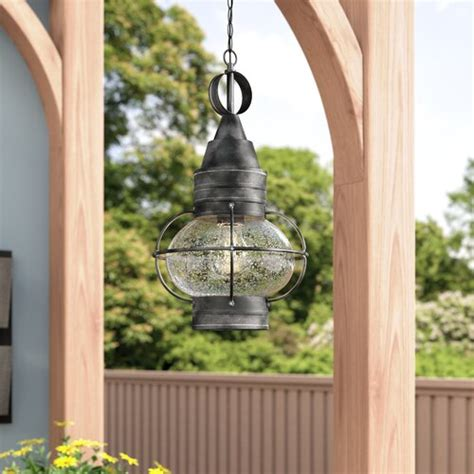 Fallsburg 1-Light Outdoor Hanging Lantern By Laurel Foundry Modern Farmhouse