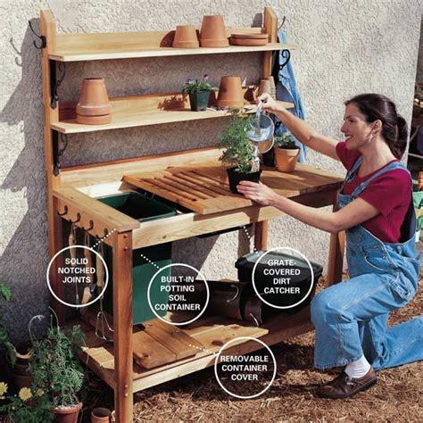 Family-Handyman-Potting-Bench-Plans