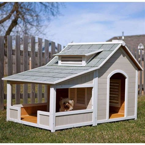 Fancy Dog House Plans For Big Dogs