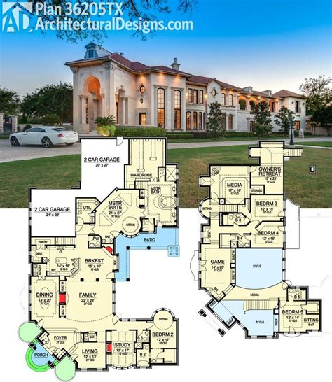 Fancy Two Story House Plans