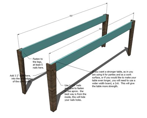 Farm Changing Table Woodworking Plans