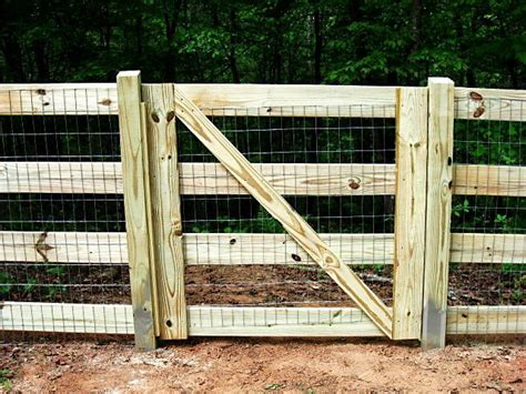 Farm Gate Plan Welded Wire Fencing 2x4