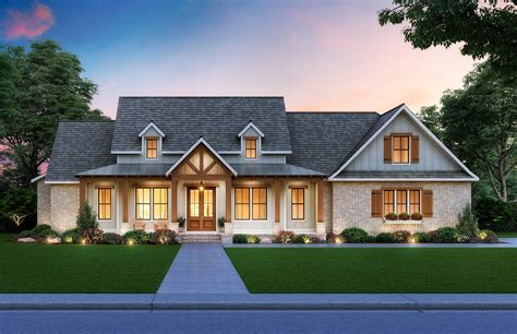 Farm Home Plans With Porches