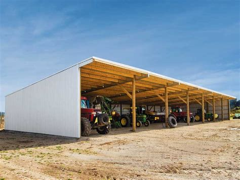 Farm-Equipment-Shed-Plans
