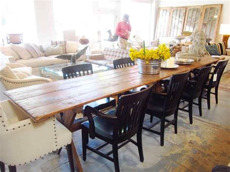 Farm-Style-Table-With-8-Chairs
