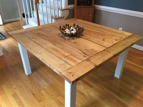Farm-Table-Cherry-Stain-White-Legs