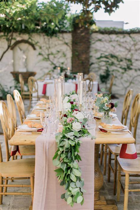 Farm-Table-Table-Runner-Wedding