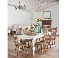 Best Farm dining table with bench.aspx