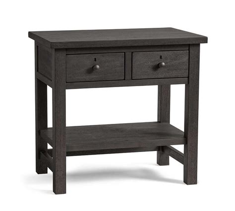 Farmhouse 2 drawer Bedside Table