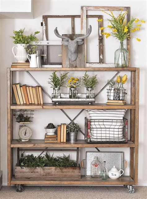 Farmhouse Bookshelf Designs