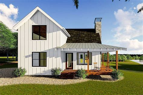 Farmhouse Cabin House Plans