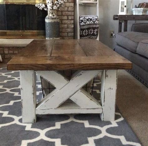Farmhouse Coffee And End Table Plans