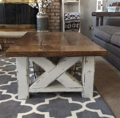 Farmhouse Coffee Table Diy Plans
