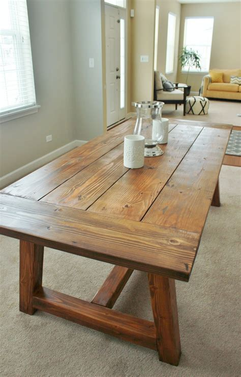 Farmhouse Dining Room Table Plans