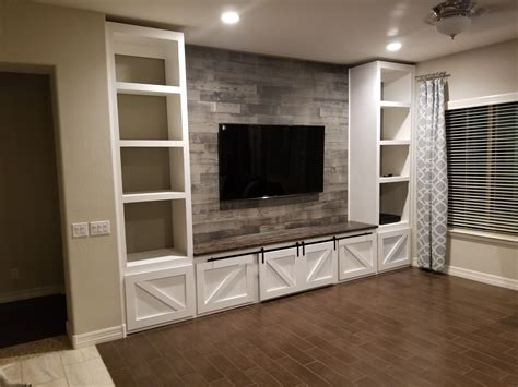 Farmhouse Entertainment Center Designs