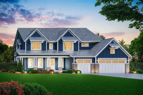 Farmhouse House Plans Two Story