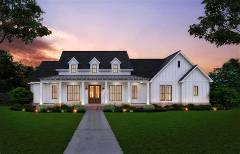 Farmhouse Inspired House Plans