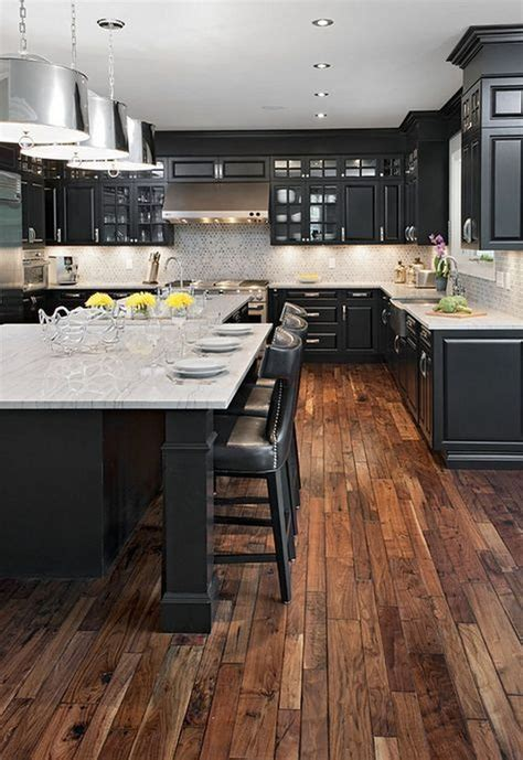 Farmhouse Kitchen Ideas With Dark Cabinets