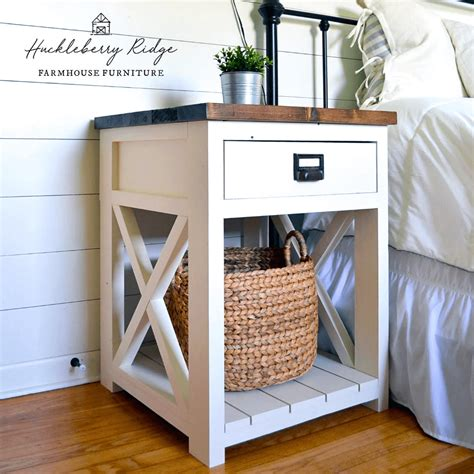 Farmhouse Night Stand Plans