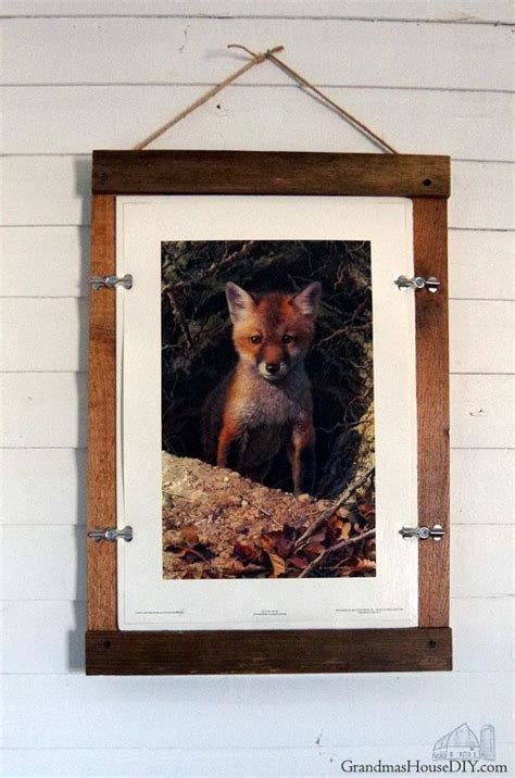 Farmhouse Picture Frame Diy Ornaments