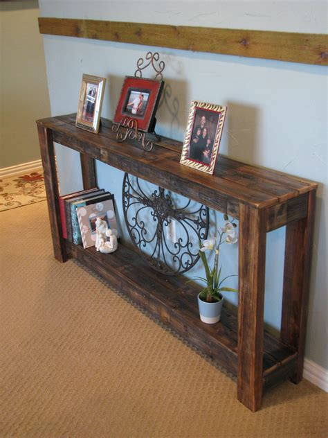 Farmhouse Sofa Table Diy Images
