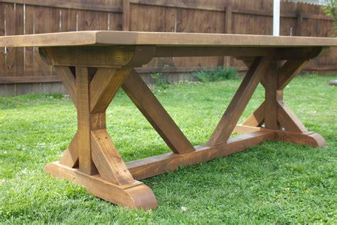 Farmhouse Table Base Plans