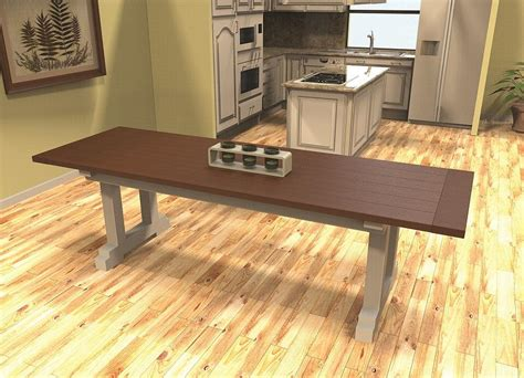 Farmhouse Table Plans Kreg