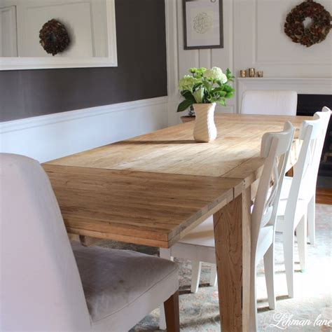 Farmhouse Table With Leaves Diy Projects