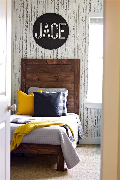Farmhouse Twin Bed Diy Headboard