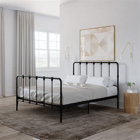 Farmhouse-Bed-Frame-Metal