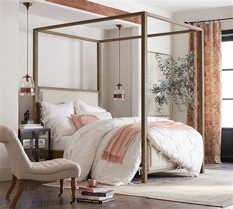 Farmhouse-Canopy-Bed-Assembly