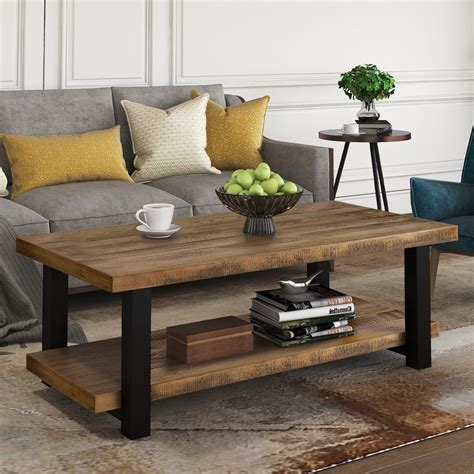 Farmhouse-Coffee-Table-And-Side-Tables