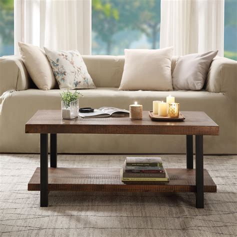 Farmhouse-Coffee-Table-In-Living-Room