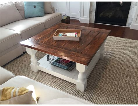 Farmhouse-Coffee-Table-Instructions